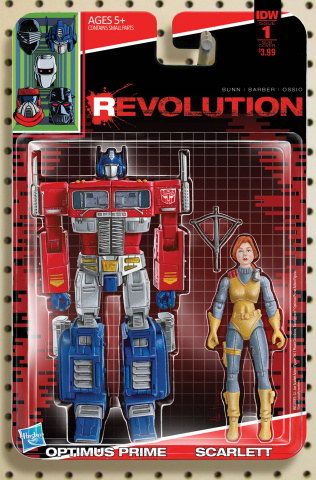Revolution #1 (Subscription Cover)