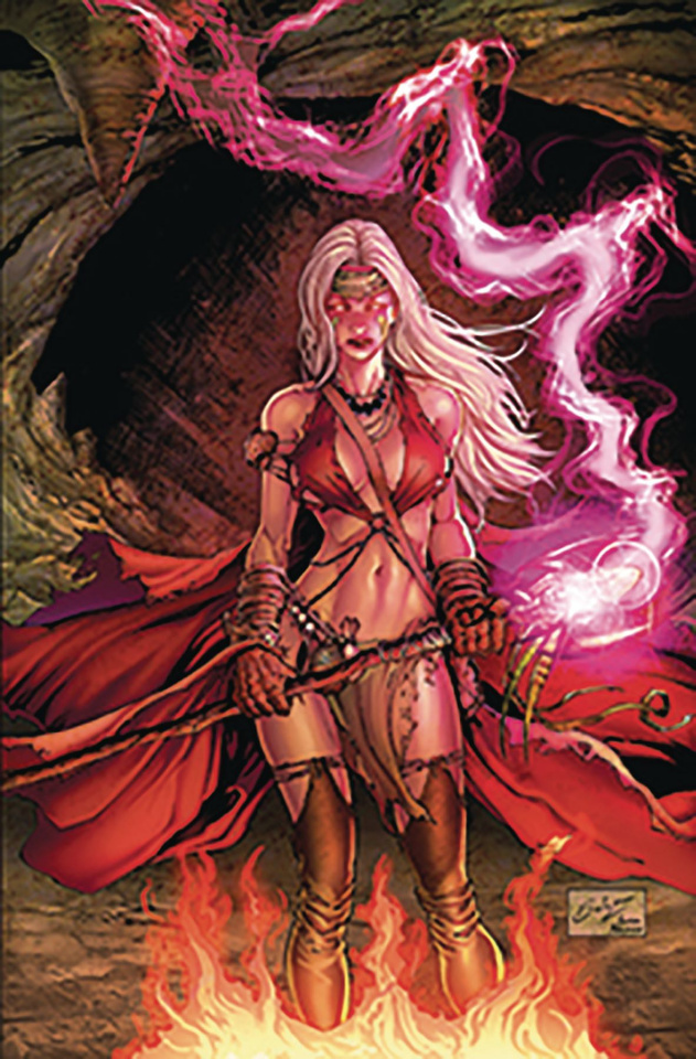 Grimm Fairy Tales #20 (Salazar Cover)