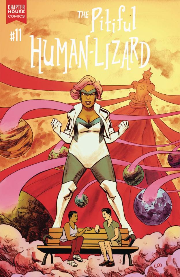 The Pitiful Human-Lizard #11 (Loo Cover)