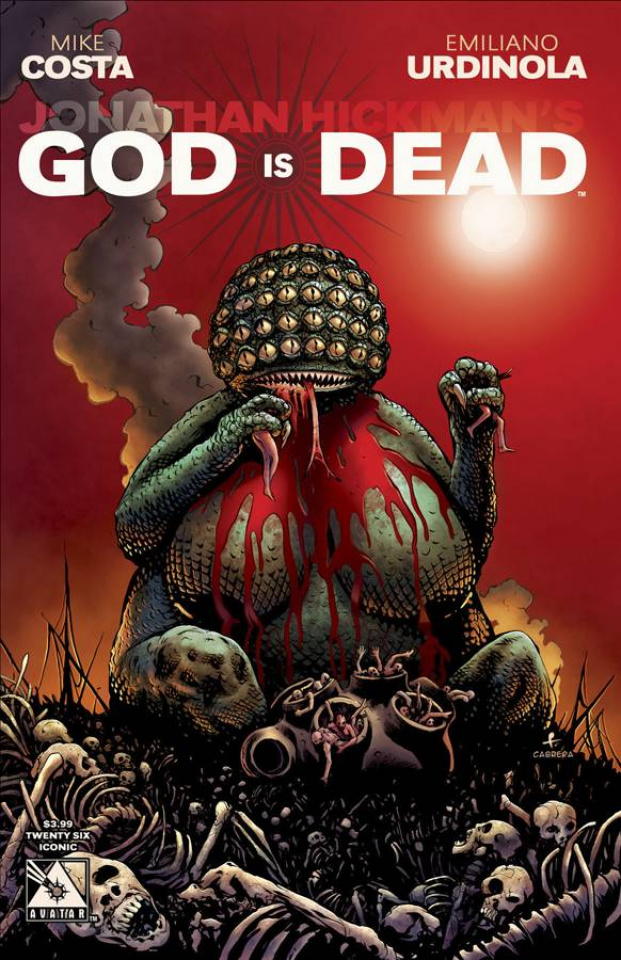 God Is Dead #26 (Iconic Cover)