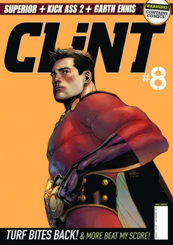 Clint #8 (Previews Edition)
