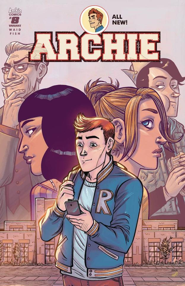 Archie #8 (Faith Erin Hicks Cover)