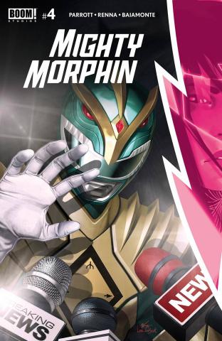 Mighty Morphin' #4