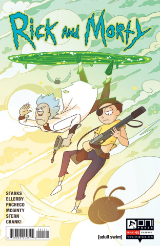 Rick and Morty #51 (Trizzino Cover)