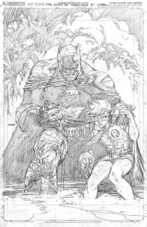 Dark Knight III: The Master Race #1 (Lee Original Sketch Cover)