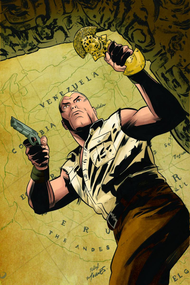 Doc Savage: The Spider's Web #1 (Rare Torres Virgin Cover)
