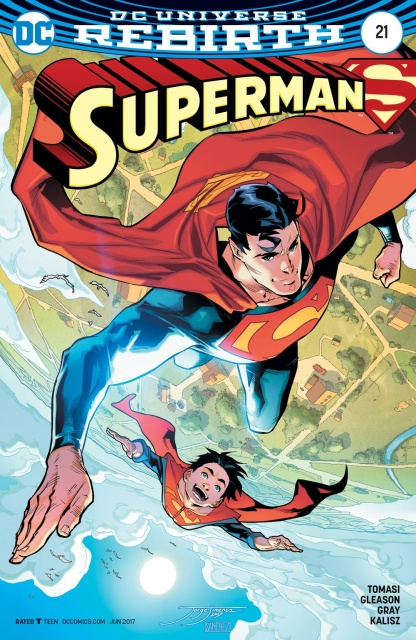 Superman #21 (Variant Cover)