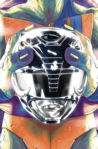 Power Rangers / Teenage Mutant Ninja Turtles #5 (Leo Montes Cover)