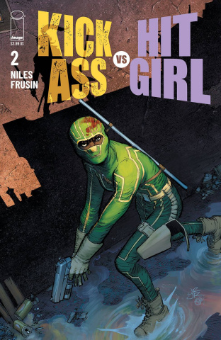 Kick-Ass vs. Hit-Girl #2 (Romita Jr Cover)