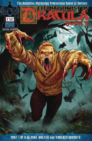 Eternal Thirst of Dracula, Book 3 #1 (Bulda Cover)