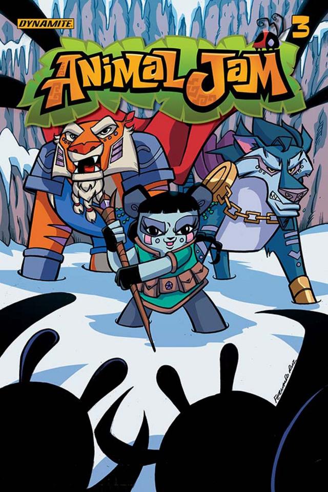 Animal Jam #3 (Ruiz Cover)