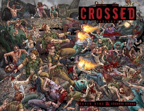 Crossed: Badlands #17 (Wrap Cover)
