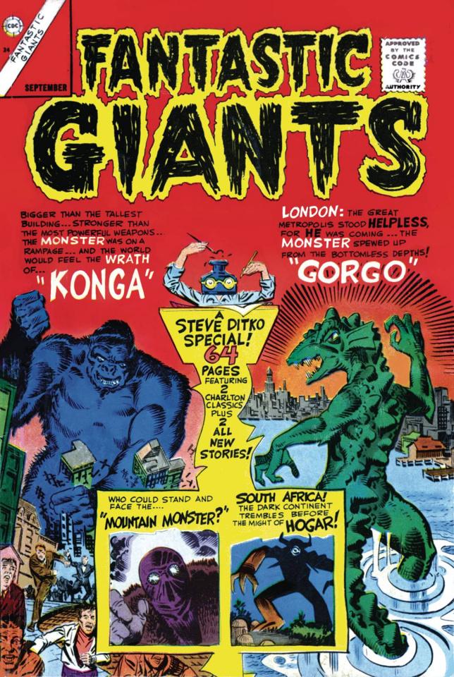 Fantastic Giants (Facsimile Edition)