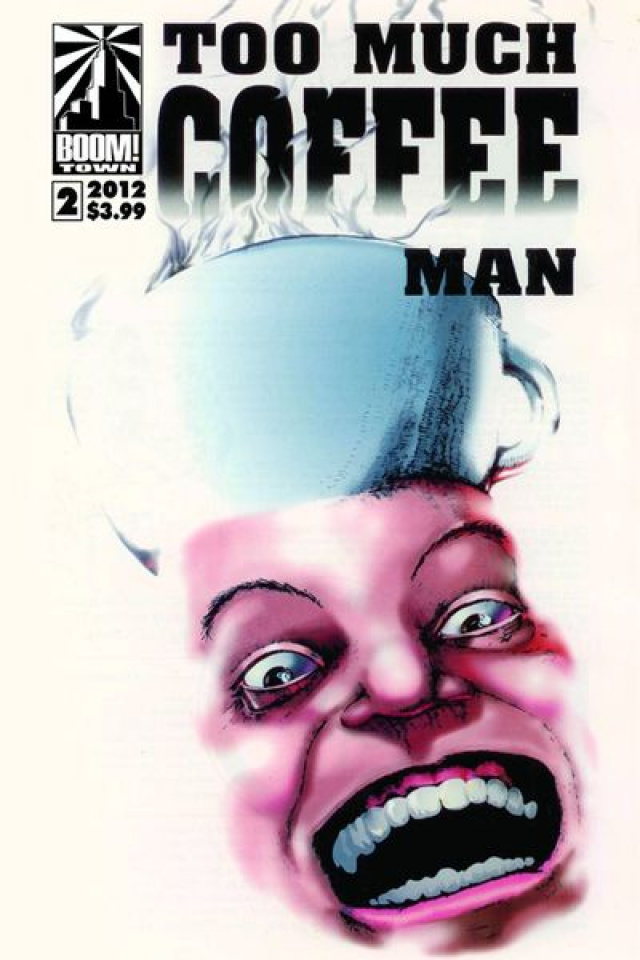Too Much Coffee Man #2
