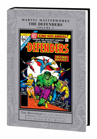 The Defenders Vol. 5 (Marvel Masterworks)