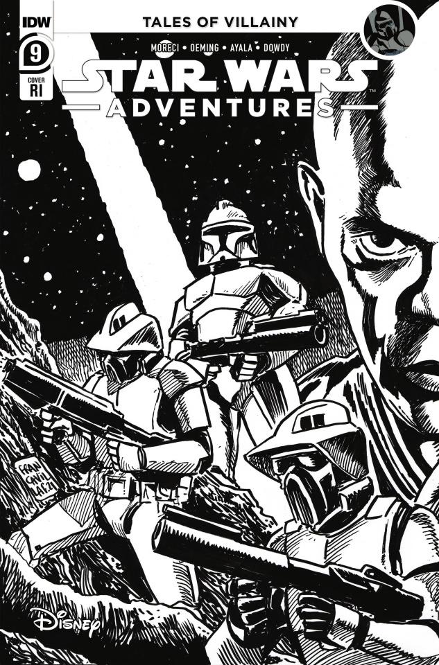 Star Wars Adventures #9 (10 Copy Francavilla Cover)
