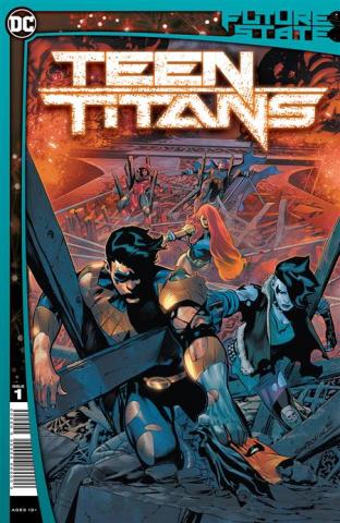 Future State: Teen Titans #1 (Rafa Sandoval Cover)