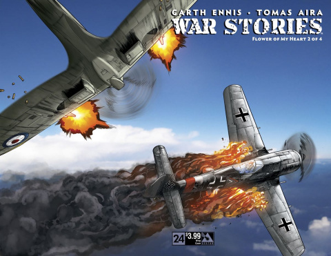 War Stories #24 (Wrap Cover)