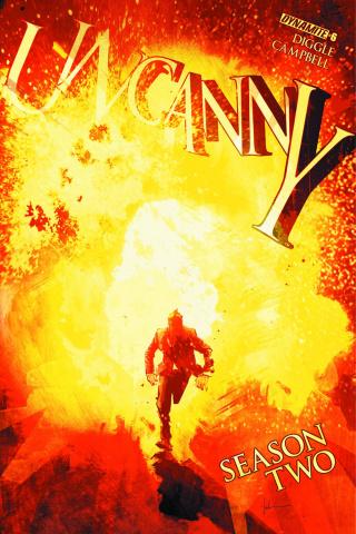 Uncanny, Season Two #6 (Jock Cover)