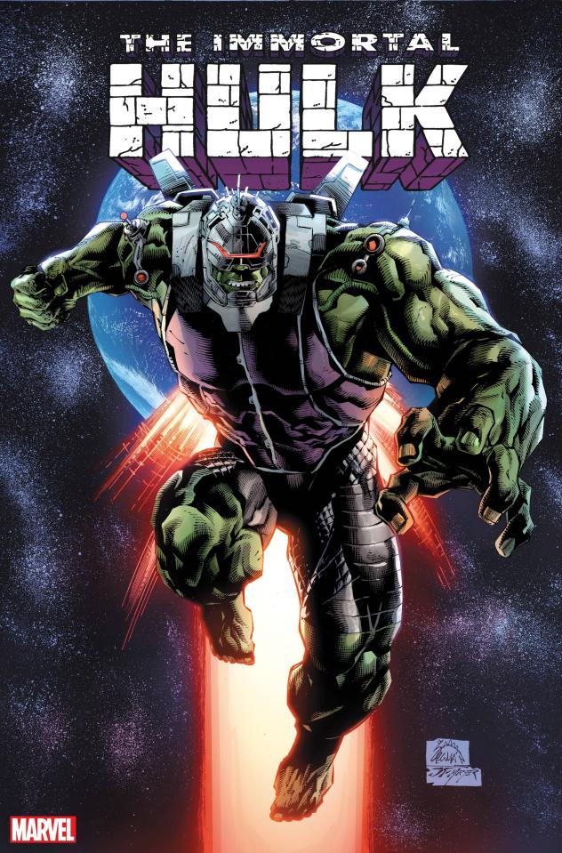 The Immortal Hulk #50 (Stegman Foreshadow Cover)