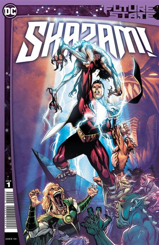 Future State: Shazam! #1 (Bernard Chang Cover)