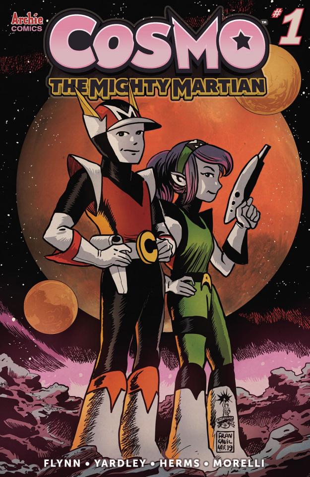 Cosmo: The Mighty Martian #1 (Francavilla Cover)