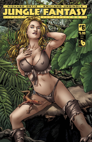 Jungle Fantasy: Ivory #6 (Sultry Cover)