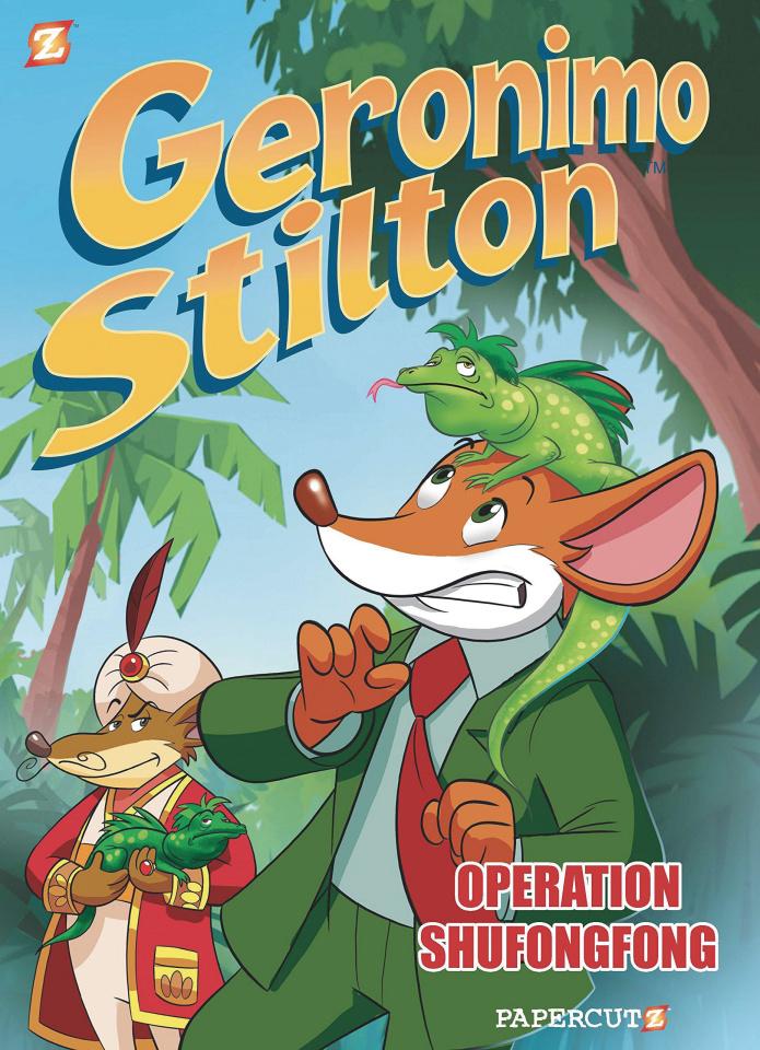 Geronimo Stilton, Reporter Vol. 1: Operation Shufongfong