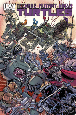 Teenage Mutant Ninja Turtles #43 (10 Copy Cover)