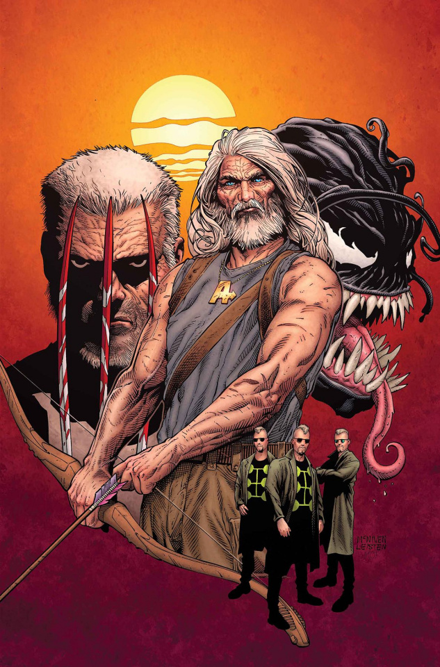 Old Man Hawkeye #1 (McNiven Cover)