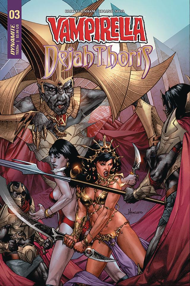 Vampirella / Dejah Thoris #4 (Anacleto Cover)