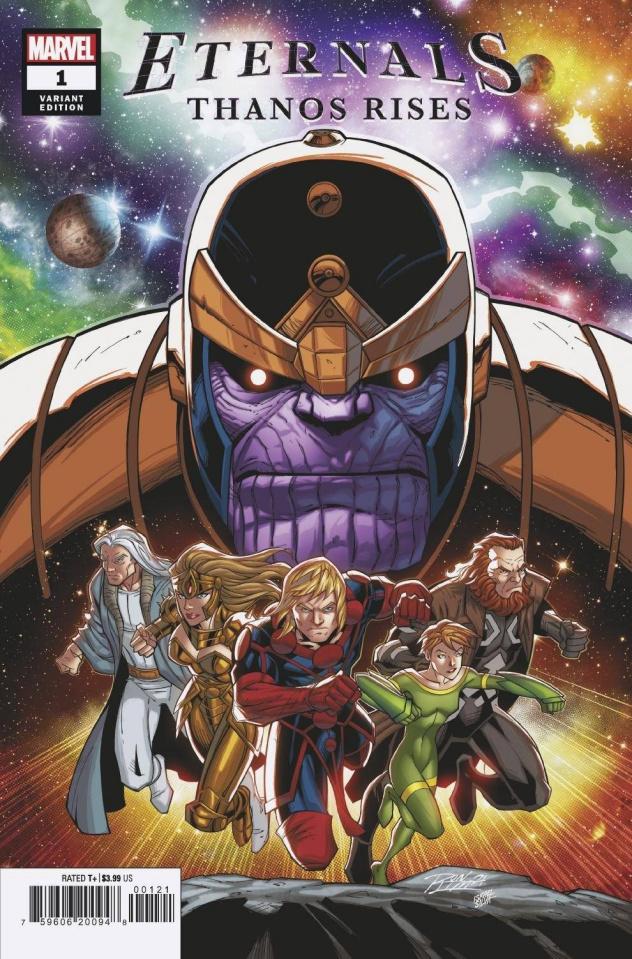 Eternals: Thanos Rises #1 (Ron Lim Cover)