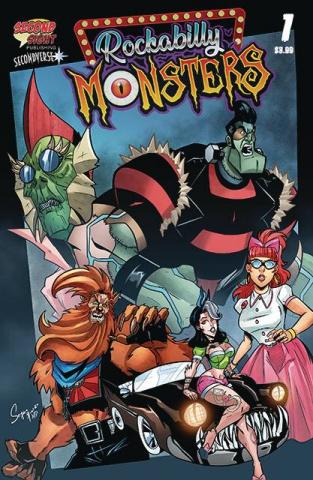 Rockabilly Monsters #1