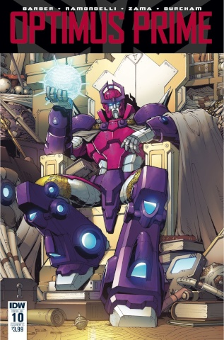 Optimus Prime #10 (Griffith Cover)