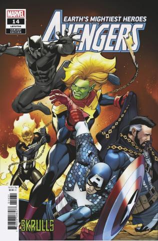 Avengers #14 (Pacheco Skrulls Cover)