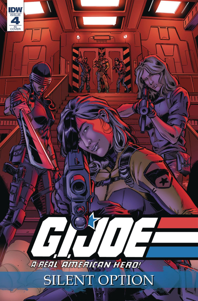 G.I. Joe: A Real American Hero - Silent Option #4 (10 Copy Cover)