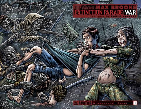 The Extinction Parade: War #1 (Wrap Cover)
