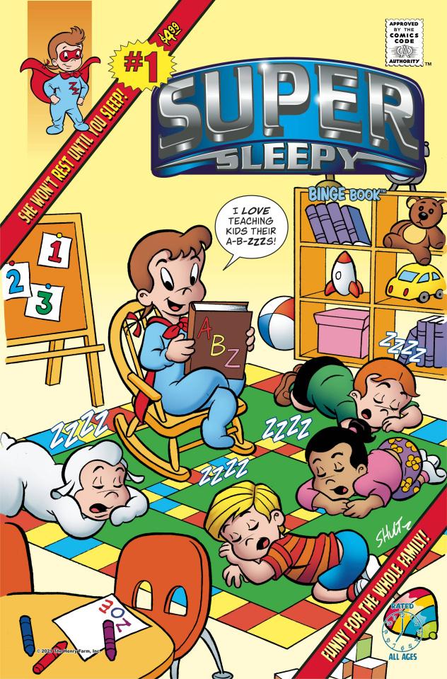 Super Sleepy #1: Bedtime Stories