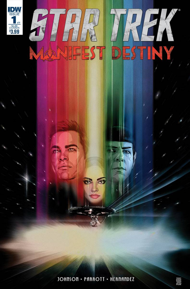 Star Trek: Manifest Destiny #1 (Subscription Cover)