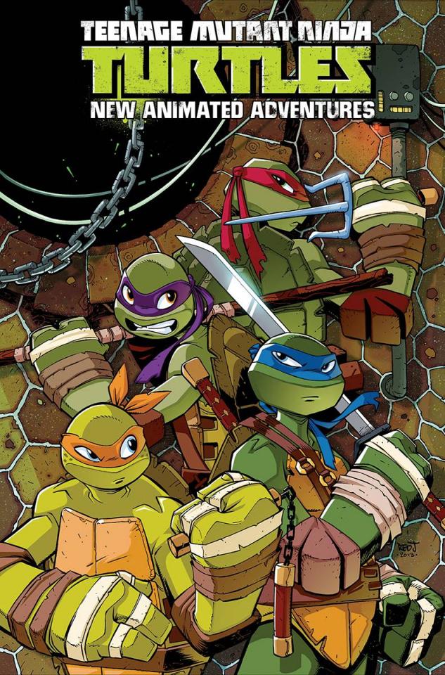 Teenage Mutant Ninja Turtles: New Animated Adventures Vol. 1 (Omnibus)