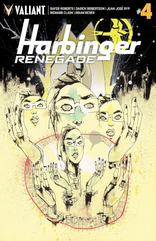 Harbinger: Renegade #4 (50 Copy Mahfood Cover)