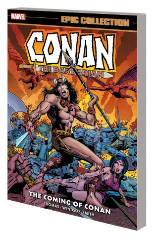 Conan the Barbarian: The Coming of Conan (Epic Collection)