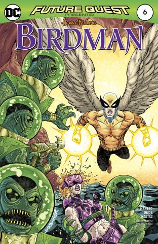 Future Quest Presents #6 (Variant Cover)