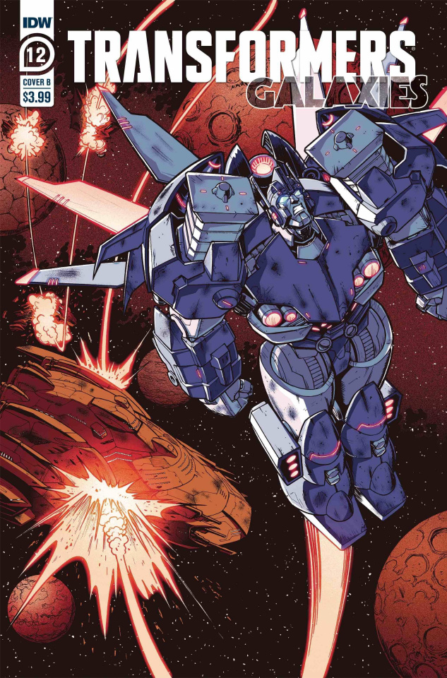 Transformers: Galaxies #12 (Roche Cover)