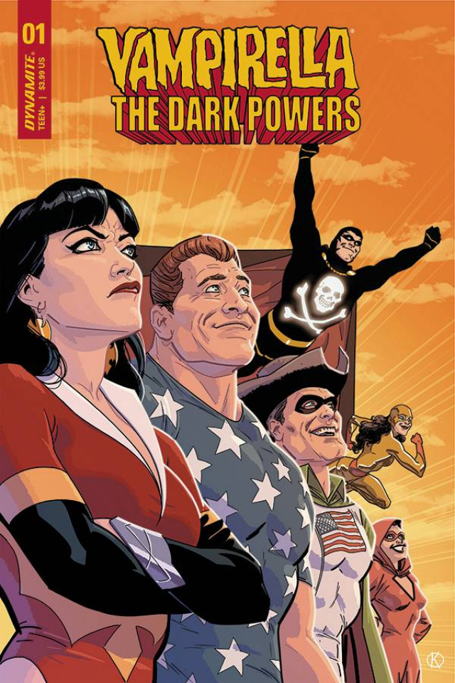 Vampirella: The Dark Powers #1 (15 Kano Copy Cover)