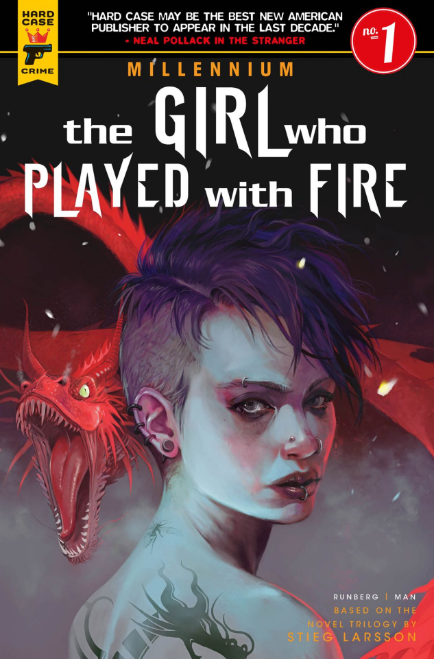 The Girl Who Played With Fire #1 (Caranfa Cover)