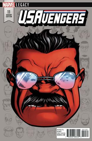 U.S.Avengers #11 (McKone Legacy Headshot Cover)