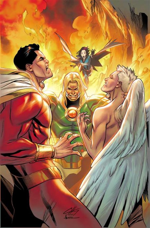 Shazam! #3 (Clayton Henry Cover)