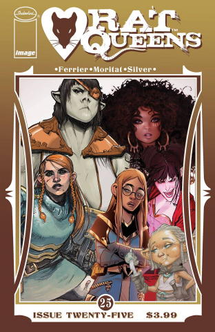 Rat Queens #25 (Collage Cover)