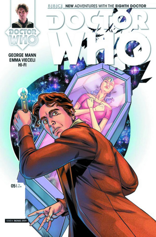 Doctor Who: New Adventures with the Eighth Doctor #5 (Stott Cover)
